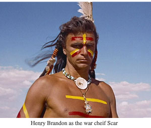 Thumb the searchers 7 chief scar
